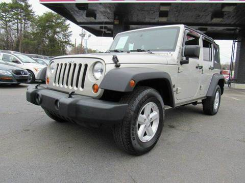 2007 jeep wrangler unlimited for sale in charlotte nc. Cars Review. Best American Auto & Cars Review