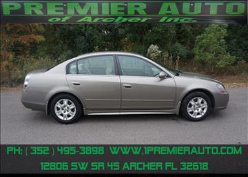 2006 Nissan Altima for sale in Archer, FL