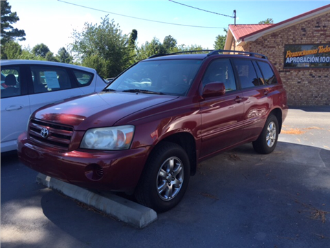 Used 2007 toyota highlander for sale in arkansas for Andy yeager motors in harrison arkansas