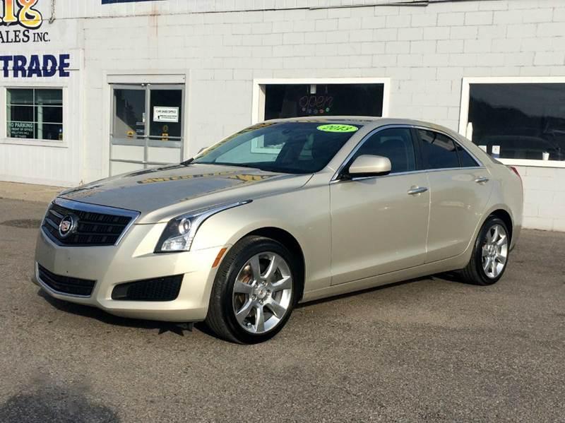 2013 Cadillac Ats  Miles 52758Color Silver Coast Stock 436F VIN 1G6AG5RX1D0175895