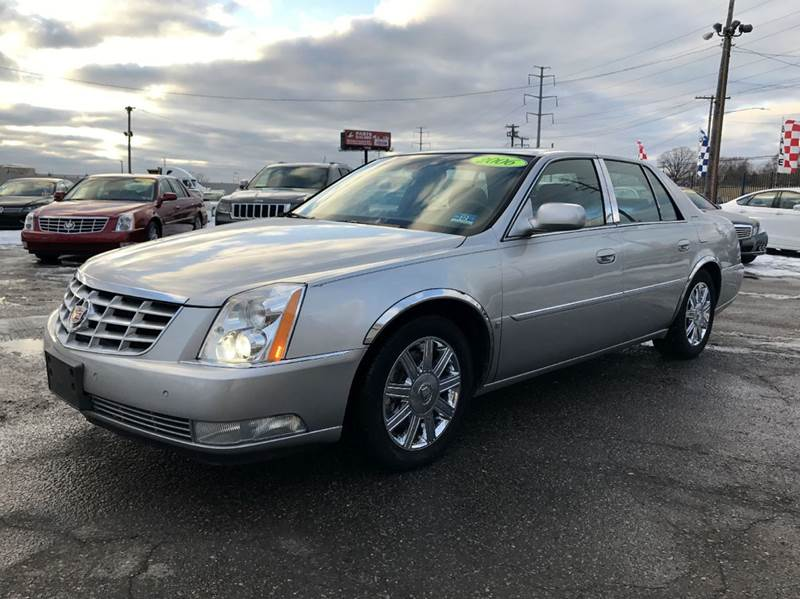 2006 cadillac dts luxury i 4dr sedan in detroit mi king auto sales inc. Black Bedroom Furniture Sets. Home Design Ideas