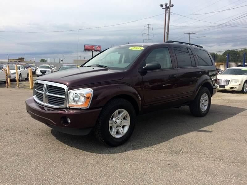 2005 Dodge Durango  Miles 131680Color Burgundy Stock 423F VIN 1D4HB48D65F505124