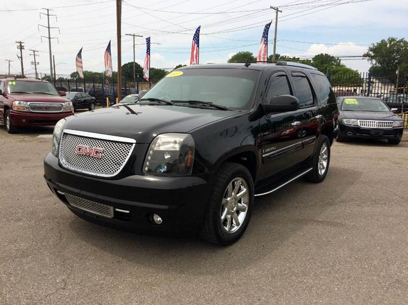 2007 Gmc Yukon  Miles 123139Color Black Stock 232F VIN 1GKFK63867J386263