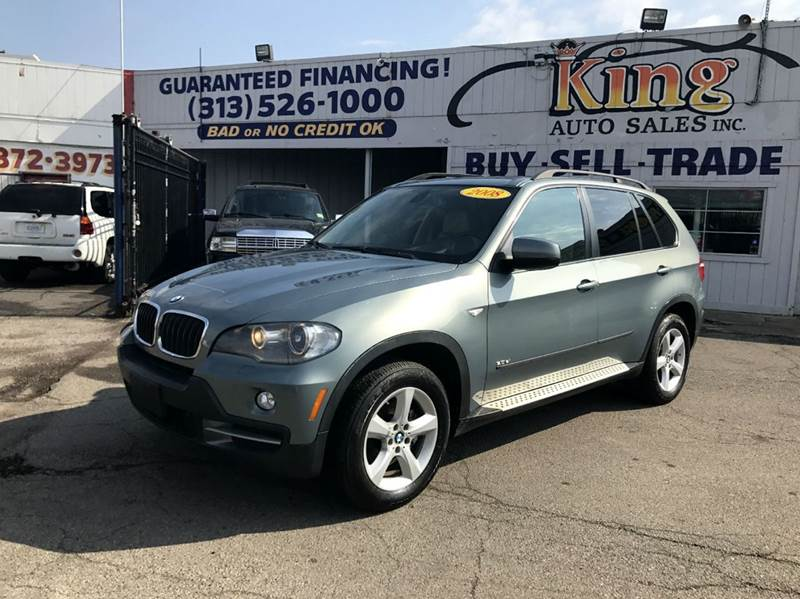 2008 Bmw X5  Miles 126566Color Green Stock 520F VIN 5UXFE43528L019698