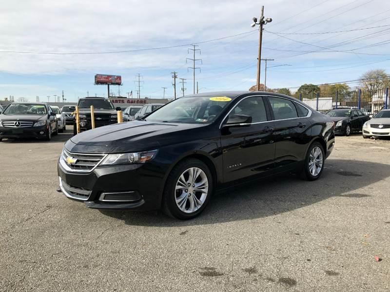 2014 Chevrolet Impala  Miles 46716Color Black Stock 477F VIN 2G1125S35E9117842