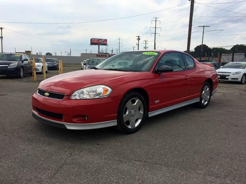 2006 Chevrolet Monte Carlo  Miles 91998Color Red Stock 416F VIN 2G1WL15C269359397