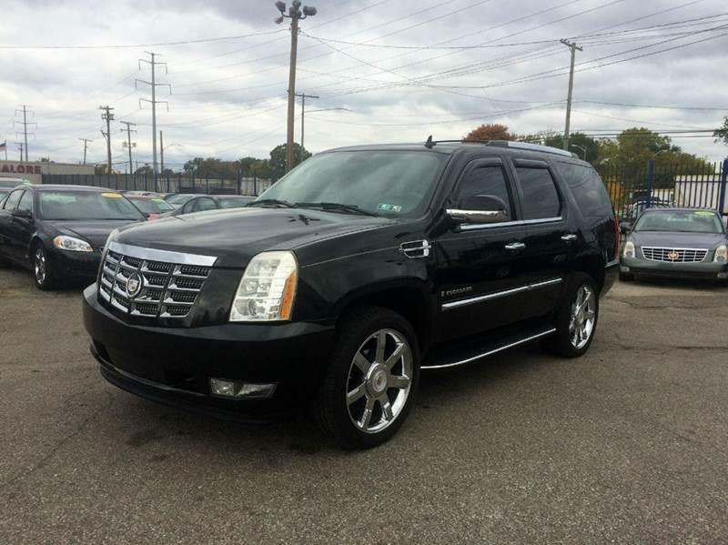 2007 Cadillac Escalade  Miles 114230Color Black Stock 459F VIN 1GYFK63837R223819