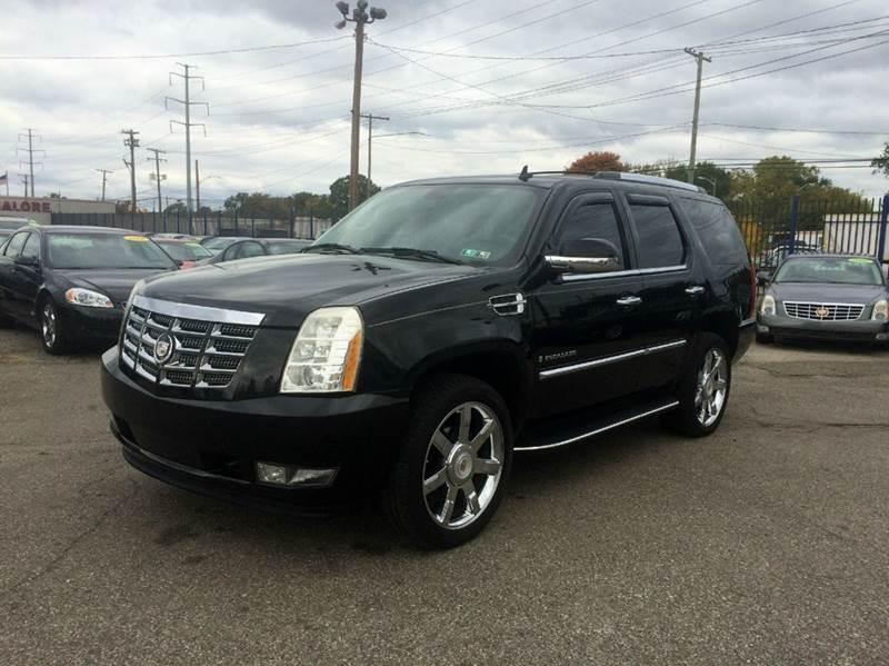 2007 Cadillac Escalade  Miles 114230Color Black Stock 459F VIN 1GYFK63837R223819