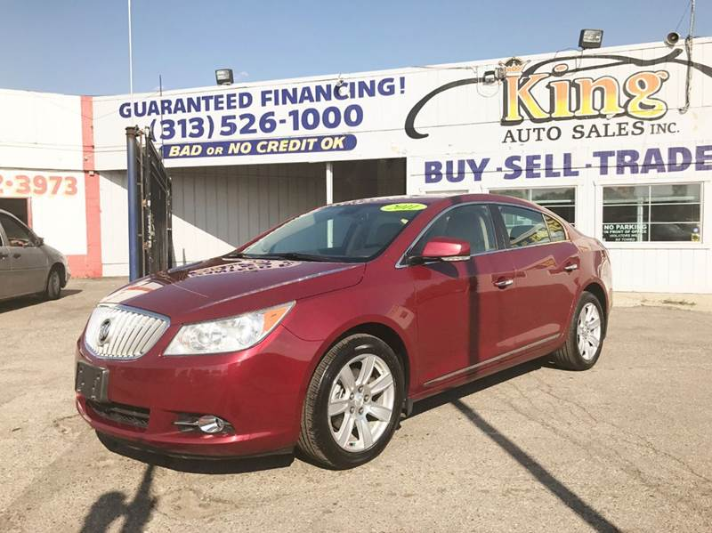 2011 Buick Lacrosse  Miles 103413Color Red Stock 348F VIN 1G4GD5GD0BF303672