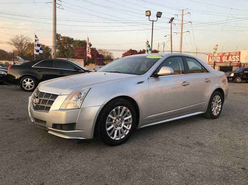 2010 Cadillac Cts  Miles 94300Color Silver Stock 472F VIN 1G6DG5EG7A0143807