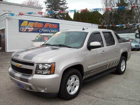 used chevrolet avalanche for sale in maine. Black Bedroom Furniture Sets. Home Design Ideas
