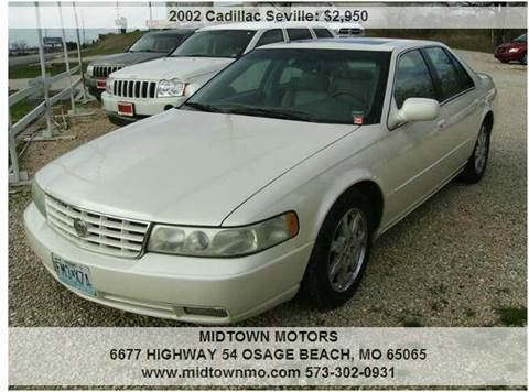 2002 Cadillac Seville for sale in Osage Beach, MO