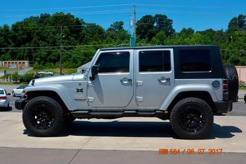 2008 Jeep Wrangler Unlimited for sale in Asheboro, NC