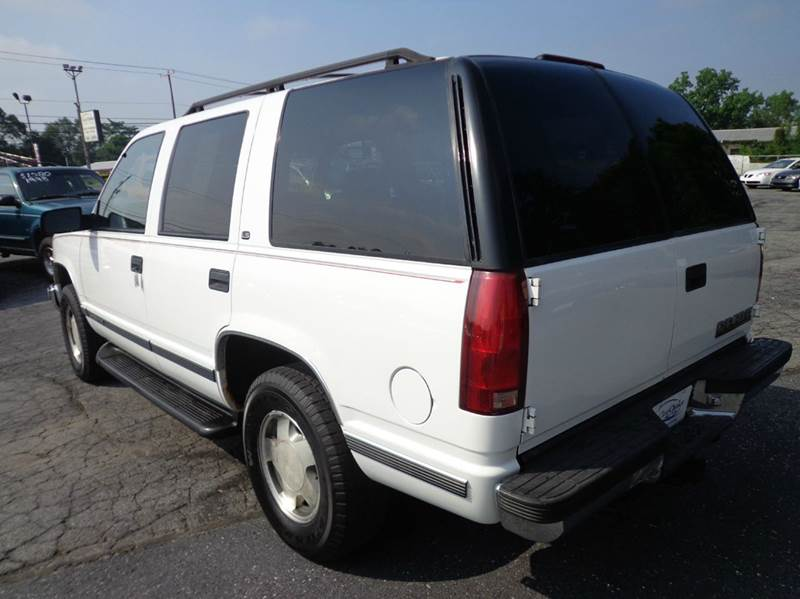 1998 Chevrolet Tahoe LS 4dr 4WD SUV - Carlisle PA