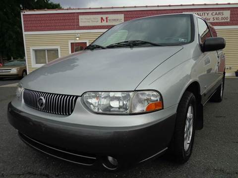 2002 Mercury Villager