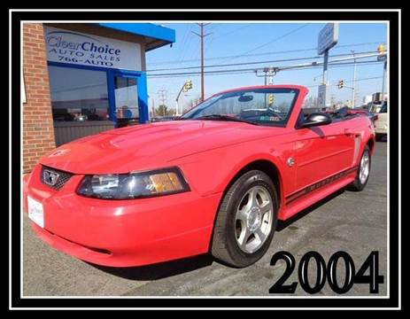 Stoystown Auto Sales >> 2004 Ford Mustang For Sale Pennsylvania - Carsforsale.com