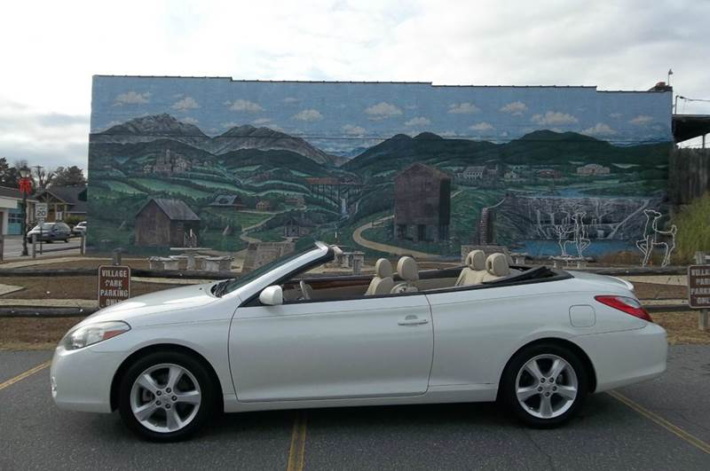 2008 toyota camry solara sle v6 2dr convertible 5a in valdese nc east valdese motors. Black Bedroom Furniture Sets. Home Design Ideas