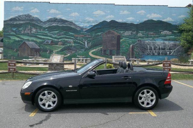 1999 mercedes benz slk class slk230 sport 2dr supercharged convertible in valdese casar. Black Bedroom Furniture Sets. Home Design Ideas