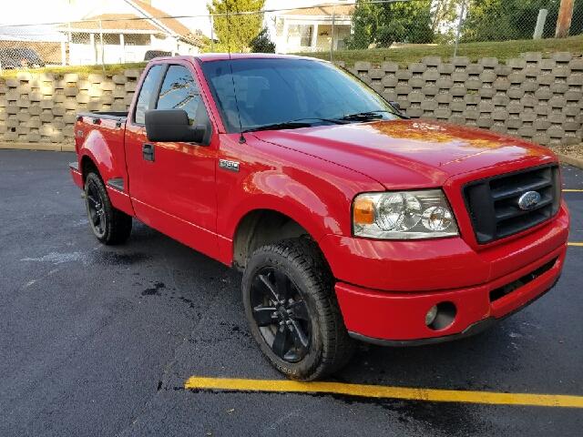 2007 Ford F 150 Stx 2dr Regular Cab Flareside 6 5 Ft Sb