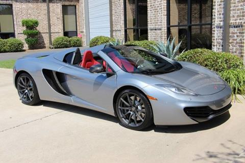 2014 McLaren MP4-12C Spider for sale in Addison, TX