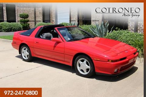 1991 Toyota Supra For Sale In Addison TX