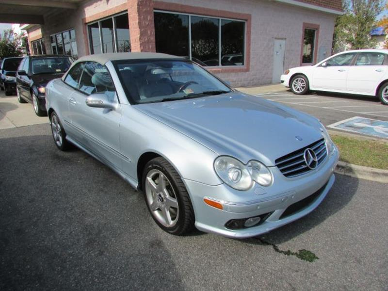 2005 Mercedes-Benz CLK CLK500 2dr Cabriolet - Virginia Beach VA