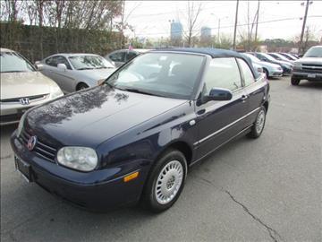 2001 Volkswagen Cabrio for sale in Virginia Beach, VA