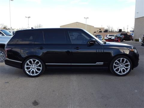 2016 Land Rover Range Rover for sale in Fond Du Lac, WI