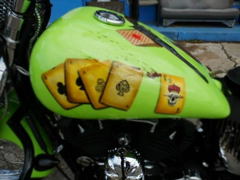2007 Harley-Davidson nitester skulls and leather - Chesterfield SC