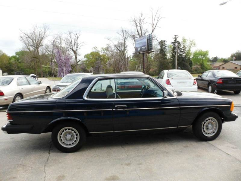 1985 Mercedes-Benz 300-Class 2dr 300CD Turbodiesel Coupe - Chesterfield SC