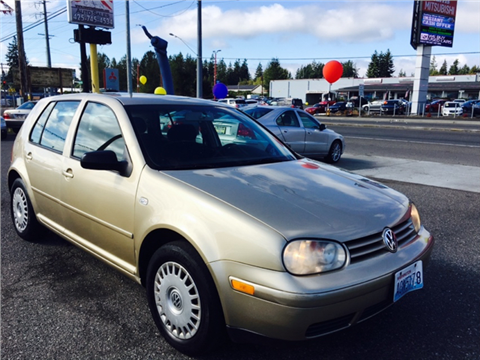 2002 Volkswagen Golf for sale in Everett, WA