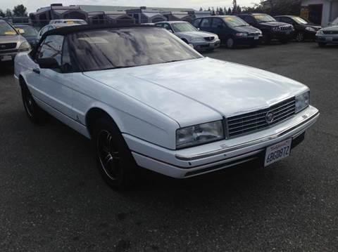 1992 Cadillac Allante for sale in Everett, WA