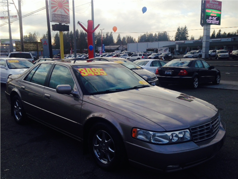 2002 Cadillac Seville for sale in Everett, WA