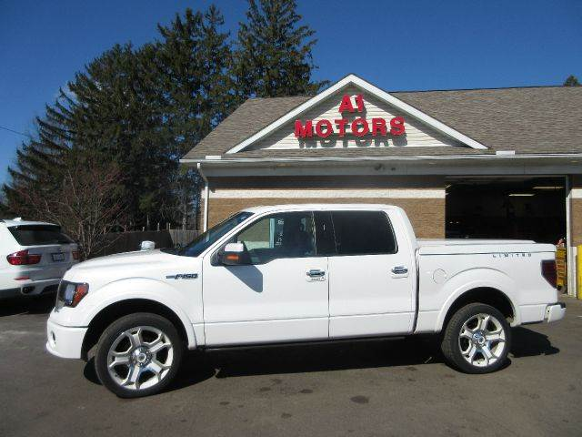 2011 Ford F 150 Lariat Limited 4x4 4dr Supercrew Styleside