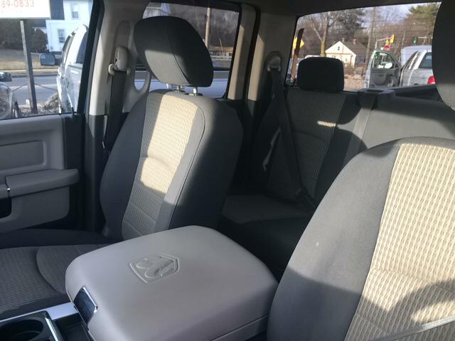 2010 Dodge Ram Pickup 1500 SLT 4x4 4dr Quad Cab 6.3 ft. SB Pickup - Ludlow MA