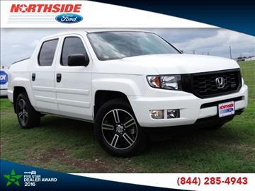 2014 Honda Ridgeline for sale in San Antonio, TX
