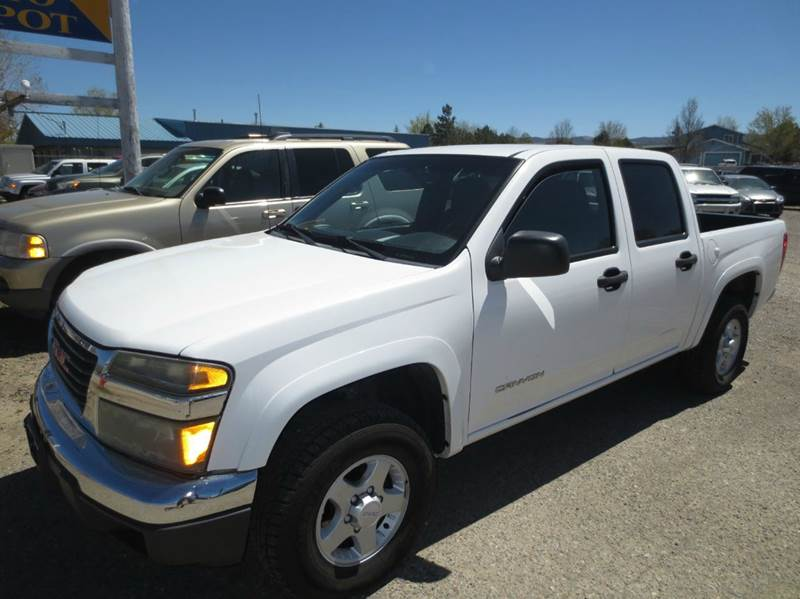 2005 gmc canyon 4dr crew cab z85 sle 4wd sb in carson city nv the auto depot. Black Bedroom Furniture Sets. Home Design Ideas