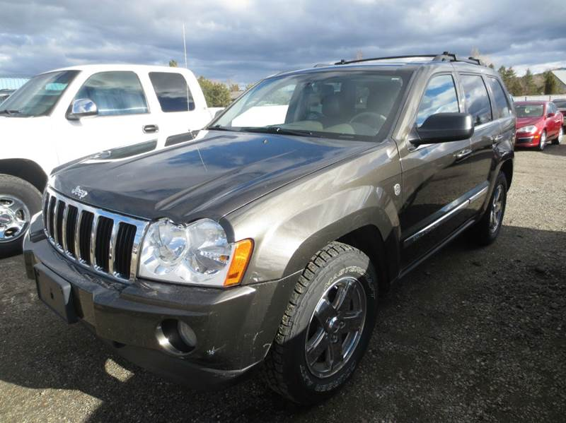 2006 Jeep Grand Cherokee Limited 4dr SUV 4WD w/ Front Side Airbags - Carson City NV