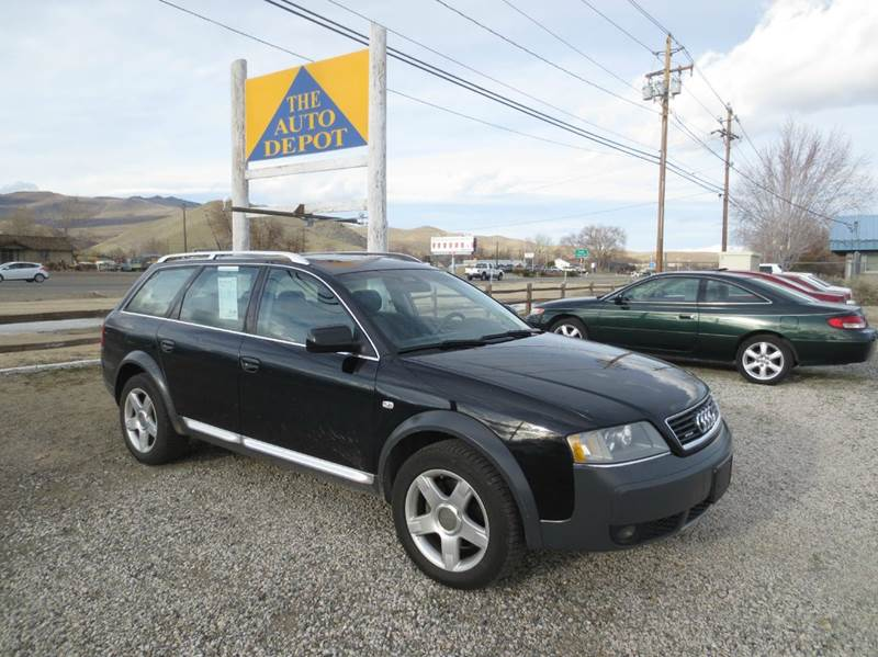 2003 audi allroad quattro awd 4dr turbo wagon in carson city nv the auto depot. Black Bedroom Furniture Sets. Home Design Ideas