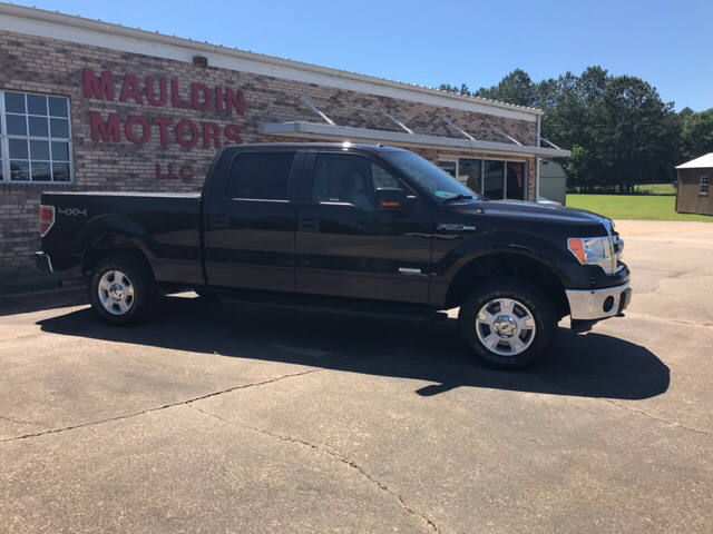 2013 Ford F-150 4x4 XLT 4dr SuperCrew Styleside 6.5 ft. SB - Collins MS