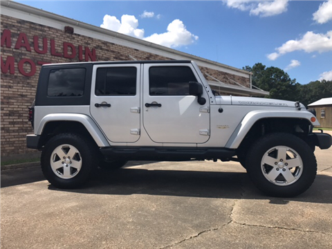 2010 Jeep Wrangler Unlimited for sale in Collins, MS