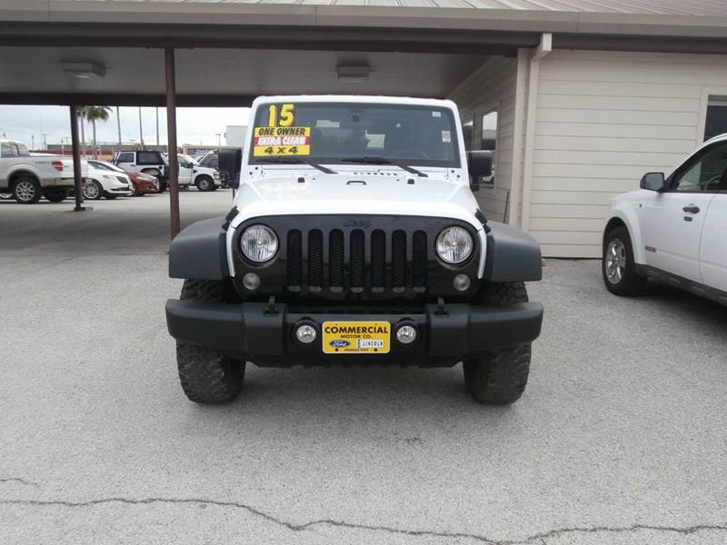2015 Jeep Wrangler 4x4 Willys Wheeler Edition 2dr Suv In