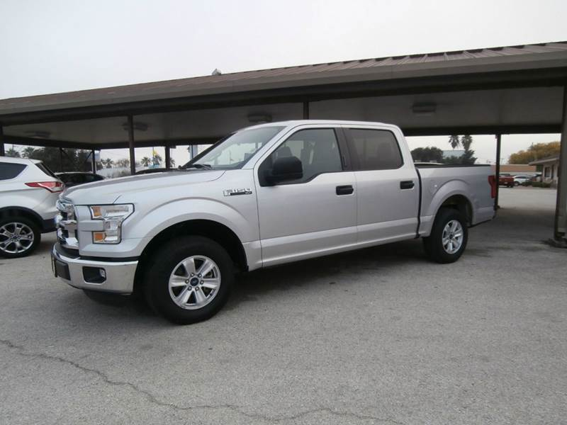 2015 ford f 150 4x2 xlt 4dr supercrew 5 5 ft sb in aransas pass tx commercial motor company. Black Bedroom Furniture Sets. Home Design Ideas