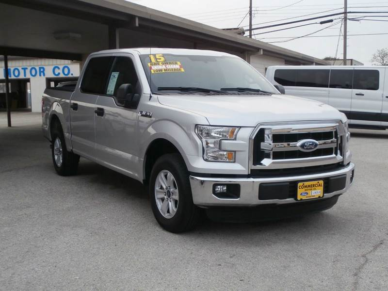 2015 Ford F 150 4x2 Xlt 4dr Supercrew 5 5 Ft Sb In
