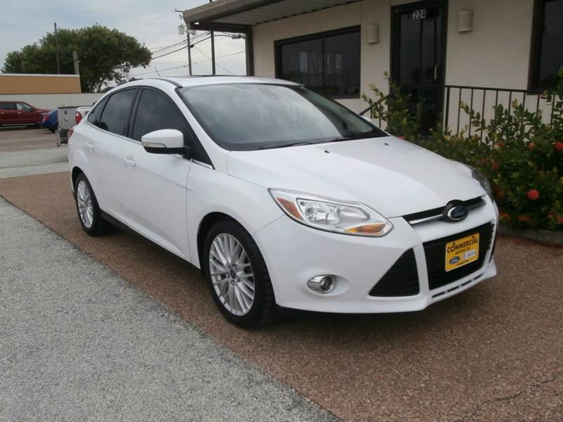 2012 ford focus sel 4dr sedan in aransas pass tx commercial motor company. Black Bedroom Furniture Sets. Home Design Ideas