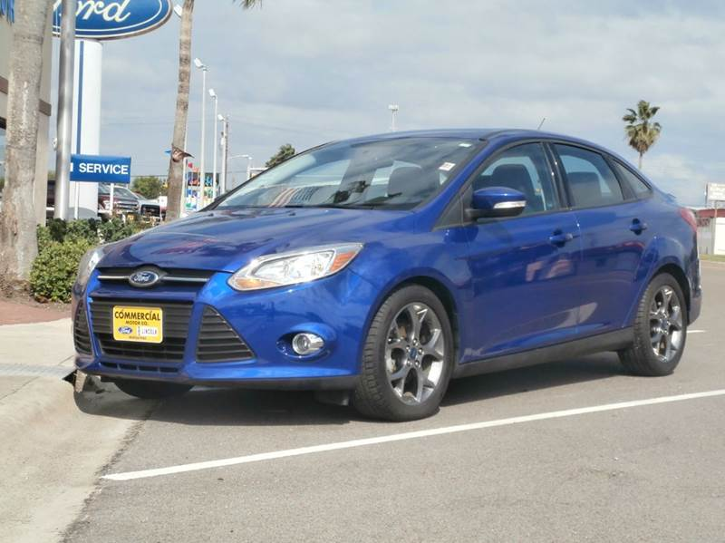 2014 ford focus se 4dr sedan in aransas pass tx commercial motor company. Black Bedroom Furniture Sets. Home Design Ideas