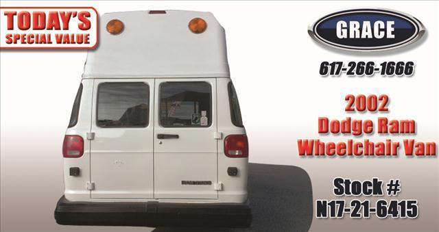 2002 Dodge Ram Van Wheechair/Scooter Accessible - Phillipston MA