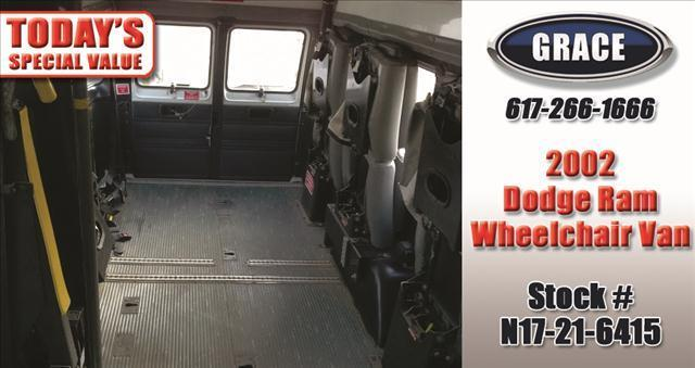 2002 Dodge Ram Van Wheechair/Scooter Accessible - Phillipston MA
