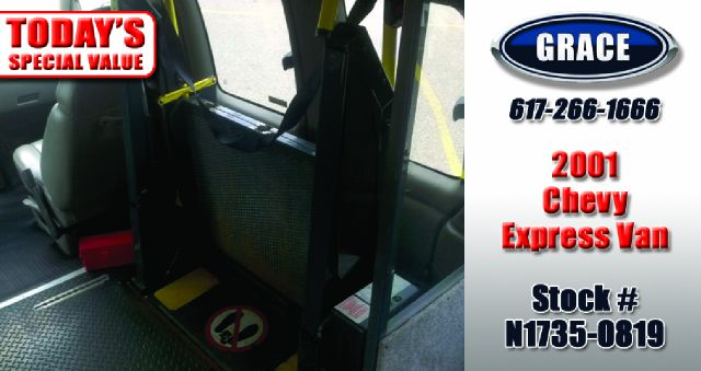2001 Chevrolet Express Wheelchair Accessible - Phillipston MA