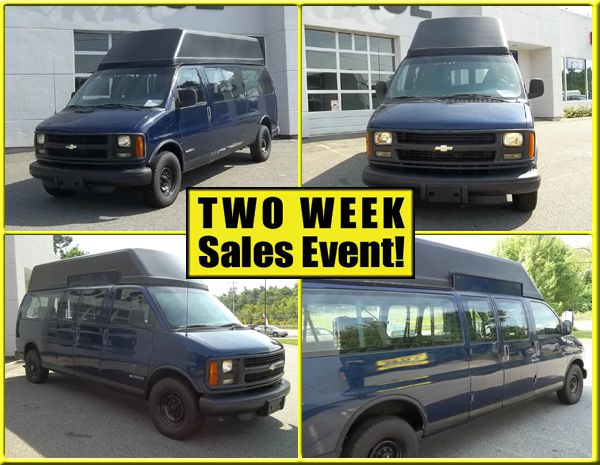 2000 Chevrolet Express Mobility  - Phillipston MA